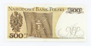 Polska, PRL 1944 - 1989, 500 ZŁOTYCH 16.12.1974, seria L.