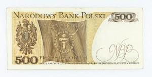 Polska, PRL 1944 - 1989, 500 ZŁOTYCH 16.12.1974, seria N.