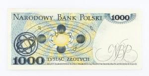 Polska, PRL 1944 - 1989, 1000 ZŁOTYCH 2.07.1975, seria AE.