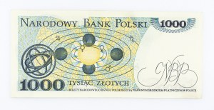 Polska, PRL 1944 - 1989, 1000 ZŁOTYCH 2.07.1975, seria C.