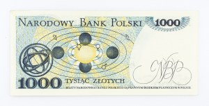 Polska, PRL 1944 - 1989, 1000 ZŁOTYCH 2.07.1975, seria D.