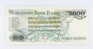Polska, PRL 1944 - 1989, 5000 ZŁOTYCH 1.06.1982, seria K.