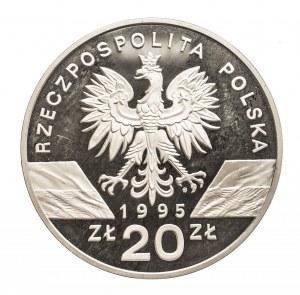 Polska, Rzeczpospolita Polska od 1989, 20 złotych 1995 Sum