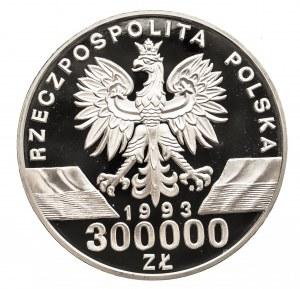 Polska, Rzeczpospolita Polska od 1989, 300000 złotych 1993 Jaskółki