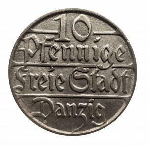 Polska, Wolne Miasto Gdańsk 1920-1939, 10 fenigów 1923, Berlin