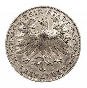 Niemcy, Frankfurt, 1 gulden 1849, punca