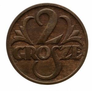 Polska, II Rzeczpospolita 1918-1939, 2 grosze 1928, Warszawa.
