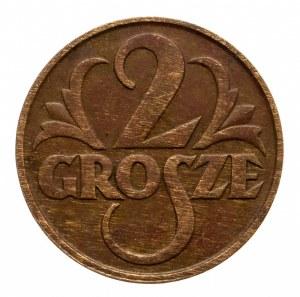 Polska, II Rzeczpospolita 1918-1939, 2 grosze 1933, Warszawa.
