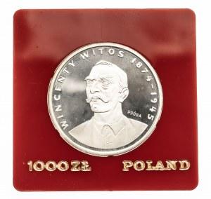 Polska, PRL 1944-1989, 1000 złotych 1984 Witos, próba