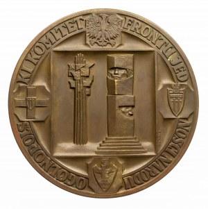 Polska, PRL 1944-1989, medal z okazji 550-lecia bitwy pod Grunwaldem, 1960, W. Kowalik