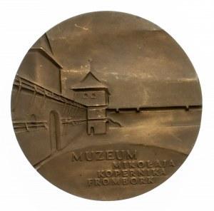 Polska, Mikołaj Kopernik, medal z okazji 40. rocznicy powstania Muzeum Mikołaja Kopernika we Fromborku, 1988; E. Olszewska-Borys