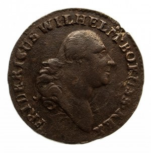 Prusy Południowe, Fryderyk Wilhelm II 1786-1797, grosz 1797 B, Wrocław.