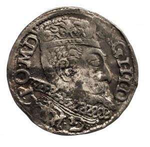 Polska, Zygmunt III Waza 1587–1632, trojak 1599, Poznań