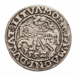 Polska, Zygmunt II August, Półgrosz 1552, Wilno - LI/LITVA