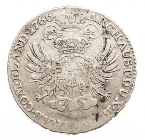 Austria, Niderlandy, Maria Teresa, 1/2 talara 1766, Bruksela