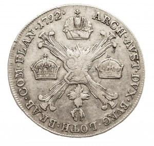 Austria, Niderlandy, Leopold II, 1/4 talara 1792 A, Wiedeń (1)