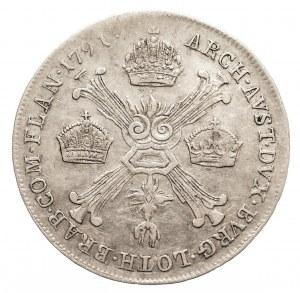 Austria, Niderlandy, Leopold II, 1/4 talara 1791 B, Kremnica