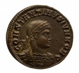 Cesarstwo Rzymskie, Konstantyn II 337-340, jako cezar 317-337, Follis 330-333, Heraclea