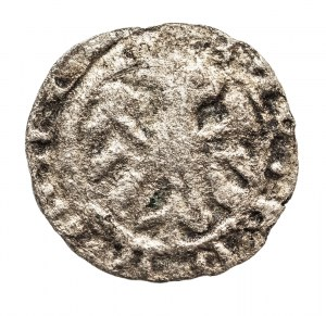 Polska, Kazimierz III Wielki 1333–1370, denar koronny