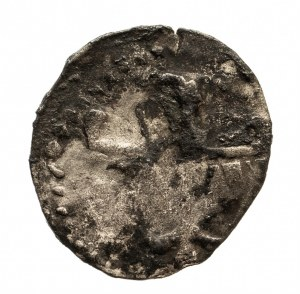 Polska, Jadwiga 1382–1399, denar 1384–1386, Kraków