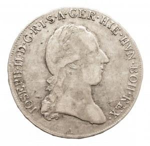 Austria, Niderlandy Józef II, 1/2 talara 1788 A, Wiedeń (2)