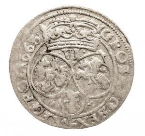 Polska, Jan II Kazimierz Waza 1649–1668, szóstak 1663 AT, Bydgoszcz