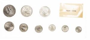 Polska, PRL 1944-1989, zestaw (zgrzewka) monet obiegowych 1949-1976