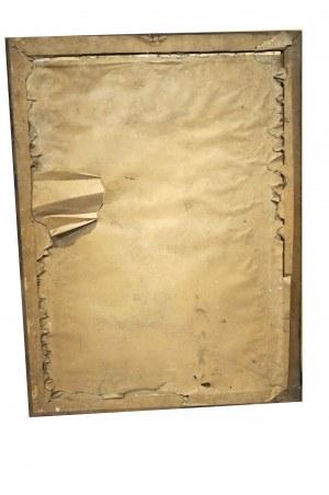 [KOŚCIUSZKO TADEUSZ] Fragment Panoramy Racławickiej z Naczelnikiem Tadeuszem Kościuszko, rozmiar 58 x 77cm
