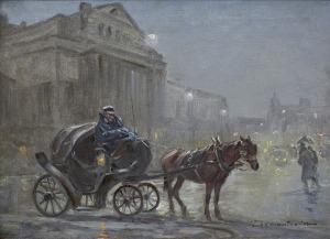 Wasilewski Czesław (I. Zygmuntowicz), DOROŻKA PRZED TEATREM WIELKIM