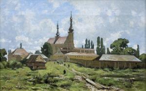 Malecki Władysław Aleksander, KOŚCIÓŁ I KLASZTOR W KIELECKIEM, LATA 80. XIX W.