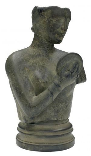 Mitoraj Igor, PATRZĄCA W LUSTRO, 1990