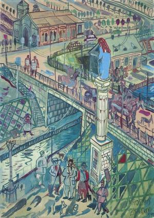 Dwurnik Edward, KROSNO (KAPLICZKA), 1989