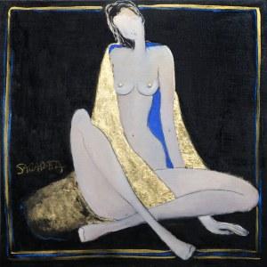 Joanna Sarapata, Otulona złotym kocem, 2020
