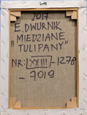 Edward Dwurnik, Tulipany, 2017