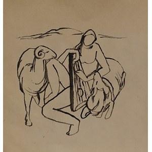 Roman Opałka, bez tytułu, 1956