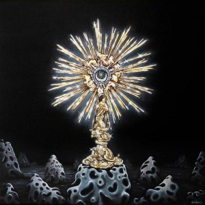 Maciej Rauch, Monstrance, 2016