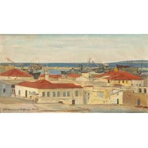 Wlastimil HOFMAN (1881-1970), Widok na Haife, 1943