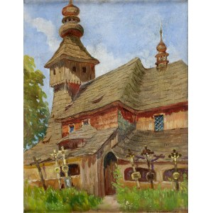 Jerzy KARSZNIEWICZ (1878-1945), Drewniany kościółek