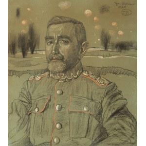 Stanisław Ignacy Witkiewicz (WITKACY) (1885-1939), Portret Stanisława Niklasa, 1920