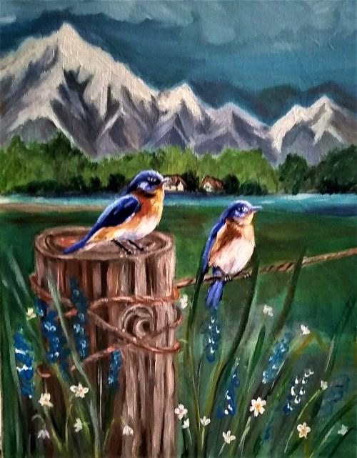 Aldona Kacprzak, Ptaki
