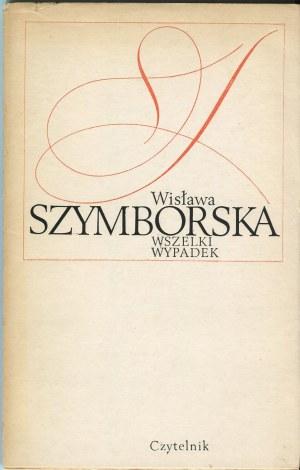 SZYMBORSKA Wisława - Wszelki wypadek [wydanie pierwsze]