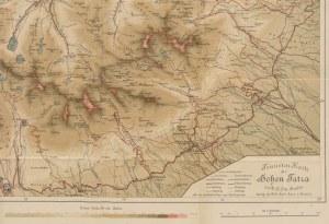 mapa [Tatry] Touristen-Karte der Hohen Tatra - Mapa Tatr [1904]
