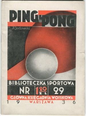 JODŁOWSKI Ryszard - Ping-pong [okładka Atelier Girs-Barcz]