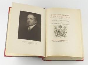 [Dzieje rodu Schaffgotsch] - Hausgeschichte und Diplomatarium der Reichs- Semperfreien und Grafen Schaffgotsch [1925]