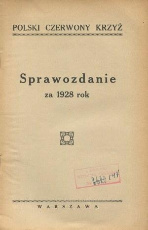 Polski Czerwony Krzyż. Sprawozdanie za 1928 rok