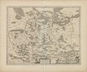 mapa [Oświęcim, Zator] BLEAU Jean - Ducatus Oswieczensis et Zatoriensis [1680]