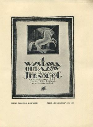 Katalog III Wystawy Cechu Artystów Plastyków