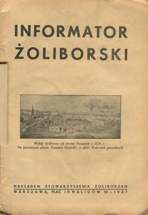 Infomator Żoliborski - Żoliborz [Warszawa 1937]