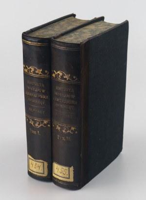 VIREY Julien-Joseph - Historya obyczajów i zmyślności zwierząt, z podziałami metodycznemi i naturalnemi wszystkich ich gromad (2 tomy)