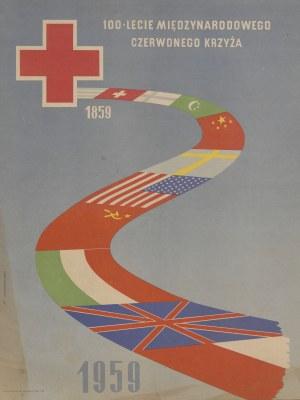 plakat KRZYŻANOWSKI M. - 100-lecie Międzynarodowego Czerwonego Krzyża 1959